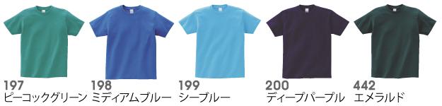 00085-CVTヘビーウェイトTシャツの商品色見本10
