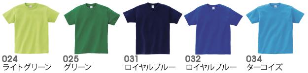 00085-CVTヘビーウェイトTシャツの商品色見本3