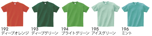 00085-CVTヘビーウェイトTシャツの商品色見本9