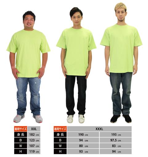 00085-CVTヘビーウェイトTシャツの着用イメージ4