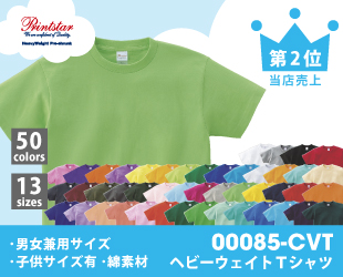 00085-CVTヘビーウェイトTシャツ