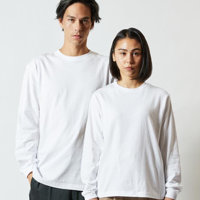 5011-01ロングスリーブTシャツ(リブ付)のアイキャッチ画像