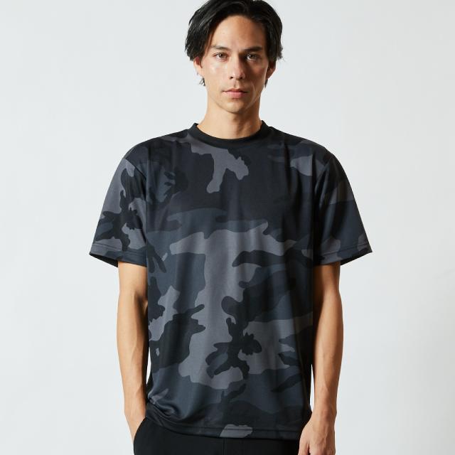 5906-01ドライアスレチックカモフラージュTシャツのアイキャッチ画像