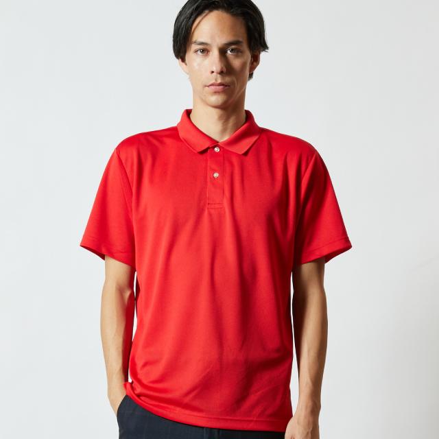 5910-01ドライアスレチックポロシャツのアイキャッチ画像