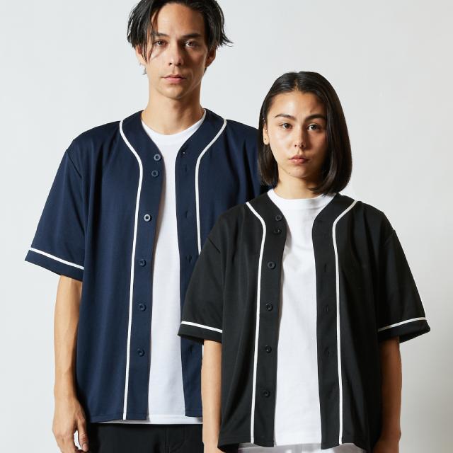 5982-01ドライアスレチックベースボールシャツのアイキャッチ画像